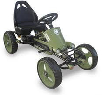 Used Lots of fun Peddle Army Car for Kids in Dubai, UAE
