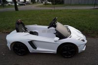 Used ride on lamborgini in white color for ki in Dubai, UAE