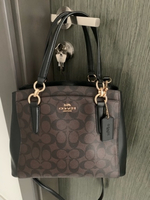 Used Authentic coach bag in signature canvas in Dubai, UAE