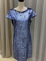 Used Sam Edelman blue sequence dress  in Dubai, UAE