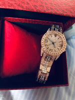 Used Diamond look rose gold Bee Sister watch in Dubai, UAE