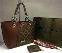 LOUIS VUITTON LADIES HANDBAG  WALLET