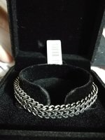 Used New stainless steel men bracelet in Dubai, UAE