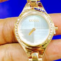 Gucci Brand New Watch Replica Master Copy For Ladies Rose Gold Colour Good Quality ...Hurry!!!