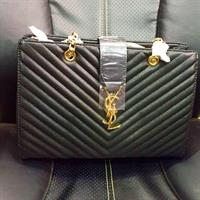 YSL Brand New Replica Leather Hand Bag I Have Black And Blue Genuine Leather Good Quality Hurry!!!!
