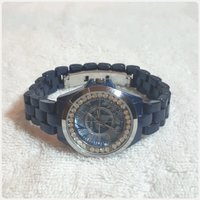 Used New navy blue TIMECO watch for lady.. in Dubai, UAE