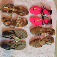 Branded Sandals 4 Pairs For Sale!!!