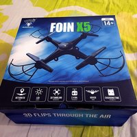 Used FOIN X5 drone - Without camera -Warranty in Dubai, UAE