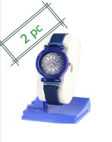 Used 2 pcs women's magnetic stylish watch in Dubai, UAE
