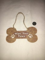 Used Wipe your paws decal for pet lovers in Dubai, UAE
