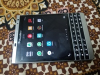 Used Blackberry Passport silver edition 32gb in Dubai, UAE