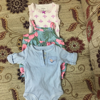 Used Baby's clothes from carters 0-3 months (used) 3pcs in Dubai, UAE