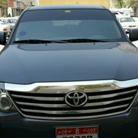 Used Toyota fortuneer in Dubai, UAE