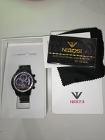 Used Power mechanical watch black black new in Dubai, UAE