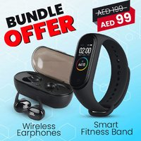 Used JBL AIRPODS + M4 SMART BAND in Dubai, UAE