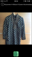 Used Sherwani pure silk 12 yrs old boys  in Dubai, UAE