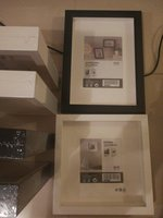 Used New White and black picture frames in Dubai, UAE