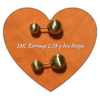 Used 18k earring dou design  in Dubai, UAE