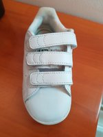 Used Adidas Stan Smith White Velcro Sneakers in Dubai, UAE
