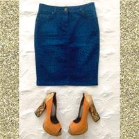 Used Oasis Denim Skirt  in Dubai, UAE