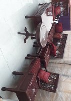 Used Solid Wood red sets with pets sheashell in Dubai, UAE