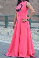 Used Pink gown in Dubai, UAE