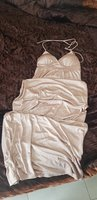 AUTHENTIC N21 gold shimmery maxi dress