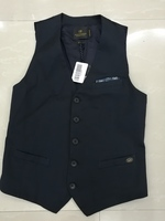 Used Scotch & Soda Navy Blue Vest size S in Dubai, UAE