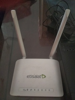 Used Etisalat WiFi Router and set up box in Dubai, UAE