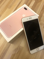 iPhone 7plus Rose gold 128gb no warranty