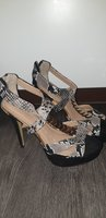 Used Black sandals size 39 used few times in Dubai, UAE