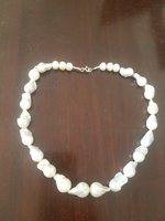 Used Fresh water pearl silver necklace in Dubai, UAE