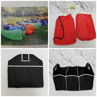 Used Air bed and Storage box for camping in Dubai, UAE