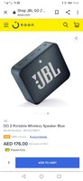 Used Jbl Go 2 Bluetooth speaker original in Dubai, UAE