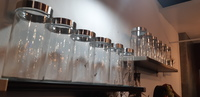 Used New Glass Jars (1LTR) with Lid in Dubai, UAE
