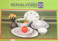 Royalford melamine 40 pieces dinner set