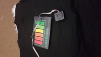 LeD voice activated music flash tshirt