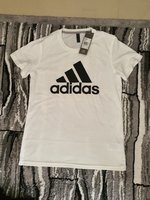 Used Adidas white shirt for women in Dubai, UAE