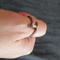 Used Cartier inspired ring and earring in Dubai, UAE