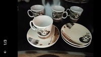 Turkish coffee cups set of 4 pcs