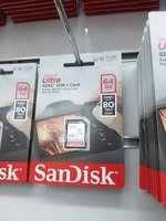 Used Micro Sd card 64 gb box pack in Dubai, UAE