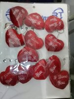 Used Bundle of heart shape keychains in Dubai, UAE