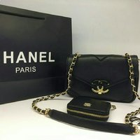 CHANEL HANDBAG  WALLET SET 