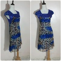 Used Fancy blue mix dress in Dubai, UAE
