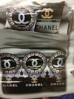 Used Chennel bed sheed pillow set in Dubai, UAE