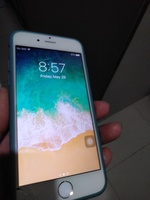 Used Iphone 6 gold 64gb with broken screen in Dubai, UAE
