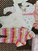 Used Baby girl clothes 0-3, 3-6 full box in Dubai, UAE