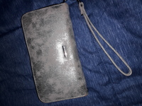 BCBG silver wallet authentic