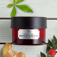The body shop firms cream