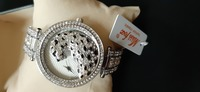 Used Women's 3D leopard diamond watch silver in Dubai, UAE